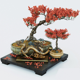 Semi bonsai 3d model Download  Buy 3dbrute
