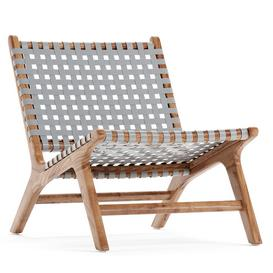 Strap Girona Outdoor Accent Chairs 3d model Download  Buy 3dbrute