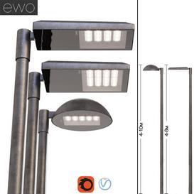 Street lights EWO 3d model Download  Buy 3dbrute