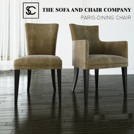 THE SOFA AND CHAIR COMPANY - PARIS CARVER 3d model Download  Buy 3dbrute
