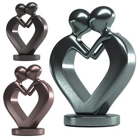 Iron love statue 3d model Download  Buy 3dbrute