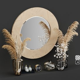 Decorative set No1 Vray Corona 3d model Download  Buy 3dbrute