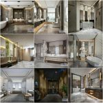 Bathroom vol4 2020 3d model Download  Buy 3dbrute