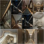 Elevator Stairs Corridor 2020