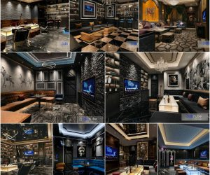 KTV Bar  vol2 2020 3d model Download  Buy 3dbrute