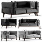 Giorgetti ago sofa