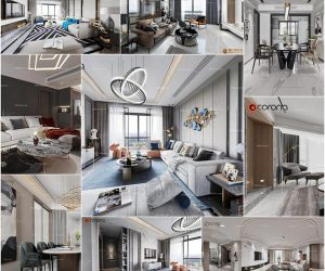 Living room vol7 2020 3d model Download  Buy 3dbrute