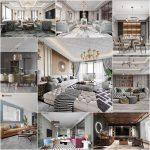 Living room vol8 2020 3d model Download  Buy 3dbrute