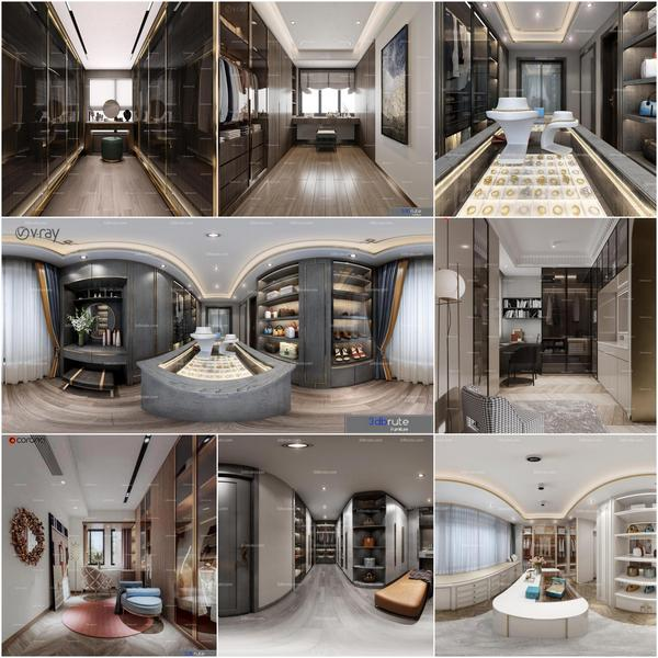 Dressing room vol2 2020 3d model Download  Buy 3dbrute