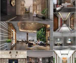 Hotel Club vol1 200 3d model Download  Buy 3dbrute