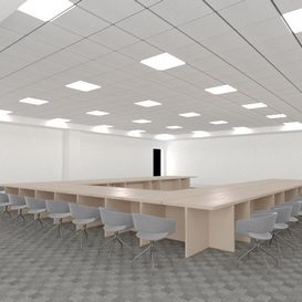 CONFERENCE ROOM 3d model Download  Buy 3dbrute