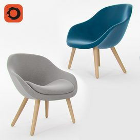 About A Lounge 82 Armchair 3d model Download  Buy 3dbrute