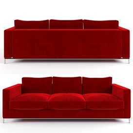 Sofa_George_CITTERIO 3d model Download  Buy 3dbrute
