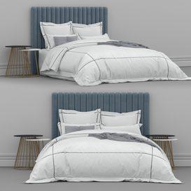 Bed from bedding adairs australia 1 3d model Download  Buy 3dbrute