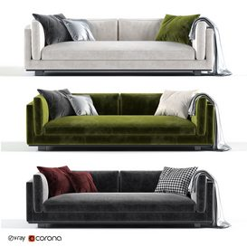 sofa 3d model Download  Buy 3dbrute