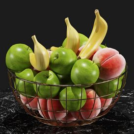 Fruits Set 01 3d model Download  Buy 3dbrute