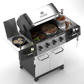 Grill Broil king 3d model Download  Buy 3dbrute