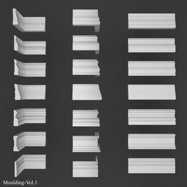 moulding vol 1 3d model Download  Buy 3dbrute