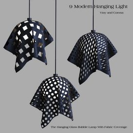 9 Hanging Light 3d model Download  Buy 3dbrute