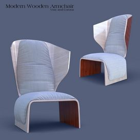 CASSINA Gender Armchair 3d model Download  Buy 3dbrute
