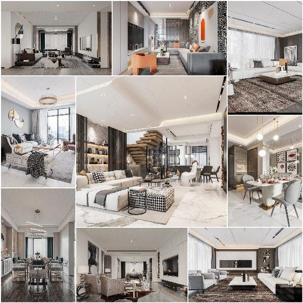 Living room vol10 2020 3d model