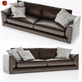 B&B Italia Richard Sofa 2 3d model Download  Buy 3dbrute