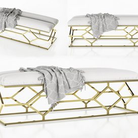 Bench Trellis 3d model Download  Buy 3dbrute