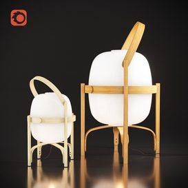 Cestita Bateraa floor & table lamp 3d model Download  Buy 3dbrute