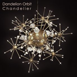 Dandelion Orbit Chandelier 3d model Download  Buy 3dbrute