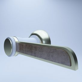 Modern Doorknob 3d model Download  Buy 3dbrute