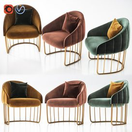 Lounge Chair 3d model Download  Buy 3dbrute