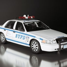 NY Police 3d model Download  Buy 3dbrute