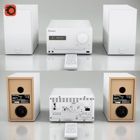 Pioneer X-CM35 3d model Download  Buy 3dbrute