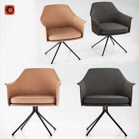Poliform Stanford Bridge Chair 3d model Download  Buy 3dbrute