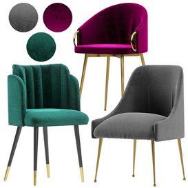 Dining Chair-Vol-1 3d model Download  Buy 3dbrute