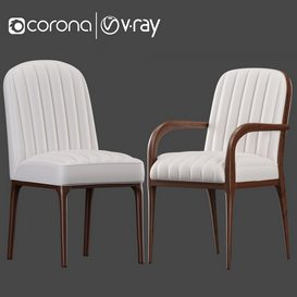 Parigi Chair 3d model Download  Buy 3dbrute
