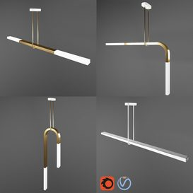 Minimal Light LED 3d model Download  Buy 3dbrute