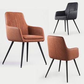 Renn Occasional Chair 3d model Download  Buy 3dbrute