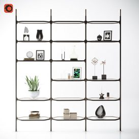 Shelving 27 3d model Download  Buy 3dbrute
