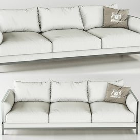 Trussardi Casa Band Sofa 3d model Download  Buy 3dbrute
