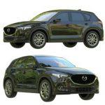 Mazda Cx5 car 3d model 3dsmax