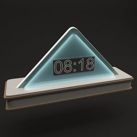 Modern Clock 3d model Download  Buy 3dbrute