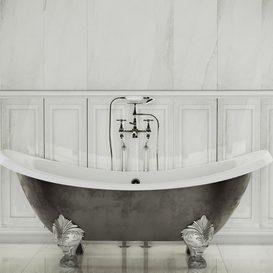 Devon Devon tub and tile Piemme 3d model Download  Buy 3dbrute