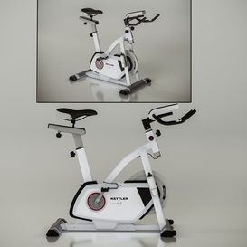 Kettler Exercise Bike 3d model Download  Buy 3dbrute