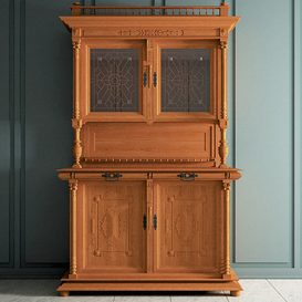 Classic Hutch 3d model Download  Buy 3dbrute