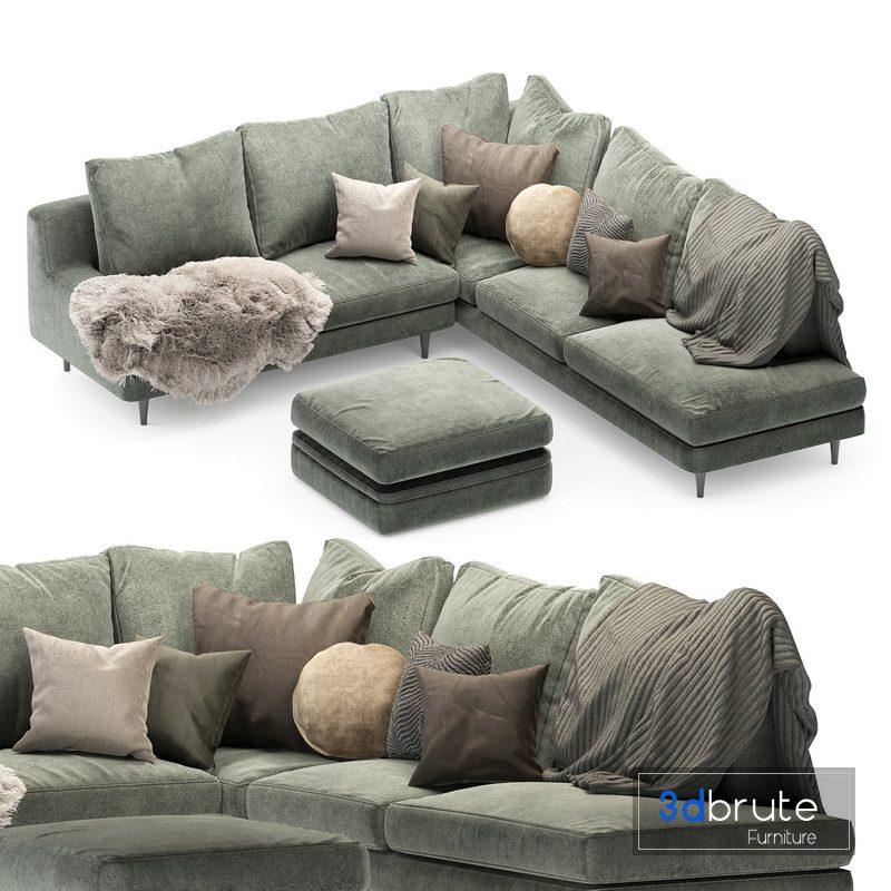 Roche Bobois Green 04 3d Model, Roche Bois Furniture