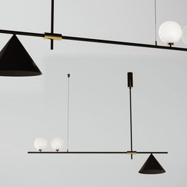 Scandinavian Style Minimalist Chandelier 3d model Download  Buy 3dbrute