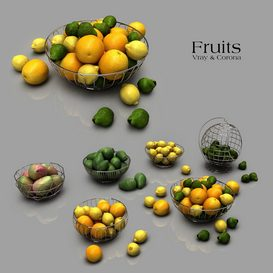 Fruits 3d model Download  Buy 3dbrute