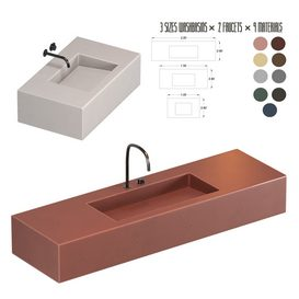 WASH BASIN SET 01 3d model Download  Buy 3dbrute