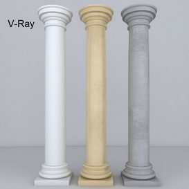 Column 3d model Download  Buy 3dbrute